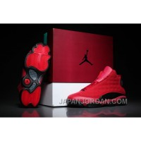 """2018 Air Jordan 13 """"What Is Love"""" Gym Red/Black Free Shipping"""