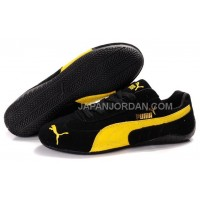 オンライン Mens Puma Fur 889 Black Yellow