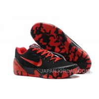 Nike Kobe 9 Low EM XDR Black Red For Sale Free Shipping