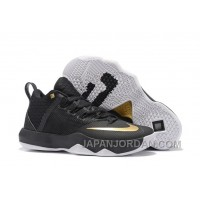 Nike Lebron Ambassador 9 Black Gold Men Cheap To Buy