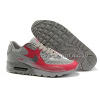Nike Air Max 90 Hyperfuse Womens Red Grey 送料無料