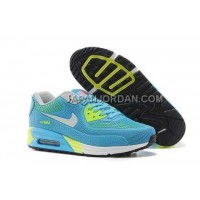 格安特別 Nike Air Max 90 KPU TPU Womens Sky Blue Yellow