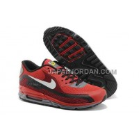 Nike Air Max Lunar 90 Mens Red Black 送料無料
