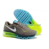 Nike Air Max Released 2014 Mens Brown Green 送料無料