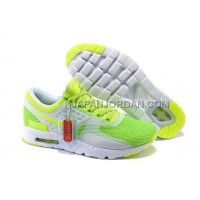 Nike Air Max Zero Mens Green Yellow White オンライン