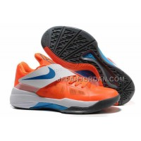 新着 Nike Zoom KD Iv Mens Orange White