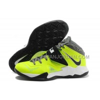 ホット販売 Nike Zoom Soldier Vii Mens Black Fluorescence Green