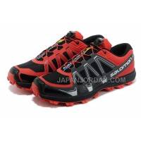 格安特別 Salomon Fellraise Mens Black Maroon Silver