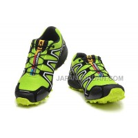 ホット販売 Salomon Speedcross 3 CS Mens GreenYellow