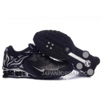 Men's Nike Shox Torch Shoes Black/Silver/Brilliant Silver Online