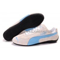 オンライン Womens Puma Fur I Beige Blue