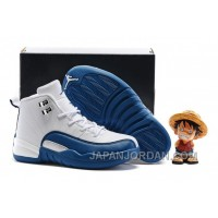 "2018 Kids Air Jordan 12 ""French Blue"" Lastest"