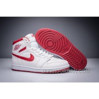 "2018 Air Jordan 1 Retro High OG ""Metallic Red"" White/Varsity Red Lastest"