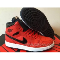 New Air Jordan 1 High Red Black 2018 For Sale Discount