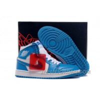 New Air Jordan 1 Retro High White/University Blue Free Shipping