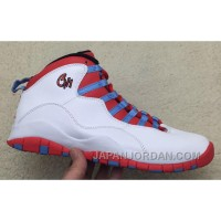"2018 Air Jordan 10 ""Chicago Flag"" Online"