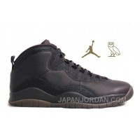 "New Air Jordan 10 Retro ""OVO"" Free Shipping"