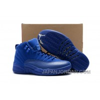 "2018 Air Jordan 12 Premium ""Deep Royal Blue"" Discount"