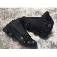 "2018 Air Jordan 13 ""Black Cat"" Black/Anthracite-Black Authentic"