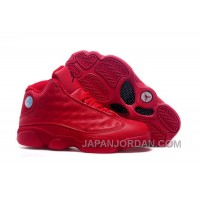 2018 Air Jordan 13 All Red Shoes Online