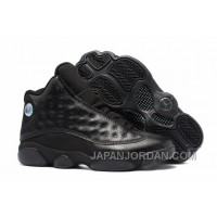2018 Air Jordan 13 Retro All Black Lastest