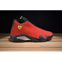 420a7e5a7d20be Air Jordan 14 Retro  Ferrari  Varsity Red Vibrant Yellow-Black New Release