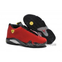 "2018 Air Jordan 14 ""Ferrari"" Chilling Red/Black Vibrant Yellow Top Deals"