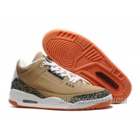 "2018 Air Jordan 3 ""Denim/Khaki"" Free Shipping"