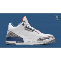 "2018 Air Jordan 3 OG 88 ""True Blue"" Super Deals"