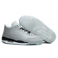 Air Jordans 3 5Lab3 Reflective Silver/Black-White Free Shipping