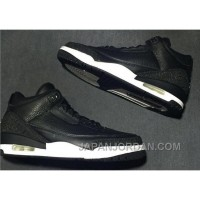 "2018 Air Jordan 3 ""Black Oreo"" Lastest"