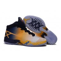 "New Air Jordan 30 XXX ""Cal Golden Bears"" White-Navy/Yellow Free Shipping"