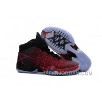 "New Air Jordan 30 XXX ""Gym Red"" Gym Red/Gym Red-Black Discount"