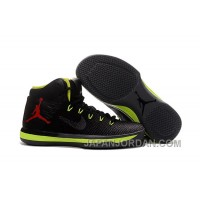 2018 Air Jordan XXX1 Black Green Red Basketball Shoes Authentic