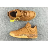 "2018 Air Jordan 4 Premium ""Ginger"" Ginger/Gum Yellow Top Deals"