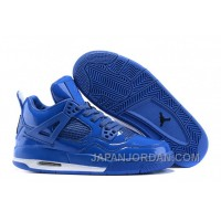 "Air Jordan 4 Retro 11Lab4 ""Royal Blue"" New Release"