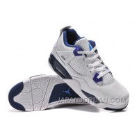 "New Air Jordan 4 Retro ""Columbia"" White/Columbia Blue-Midnight Navy For Sale"