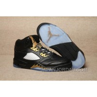 2018 Air Jordan 5 Olympic Black/Metallic Gold New Release