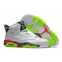 "2018 Air Jordan 6 ""Bright Mango"" White/Ghost Green-Hasta-Bright Mango Online"