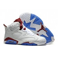 "2018 Air Jordan 6 ""Maroon"" Off-White/New Maroon Cheap To Buy"
