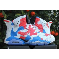 "New Air Jordan 6 ""American Heroes"" Custom Discount"