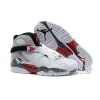 "New Air Jordan 8 ""Bugs Bunny"" White/Black-True Red Super Deals"
