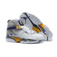 "New Air Jordan 8 ""Kobe Bryant Lakers Home"" PE Online"