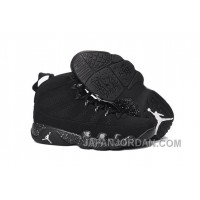 "2018 Air Jordan 9 ""Anthracite"" Anthracite/Black-White For Sale"