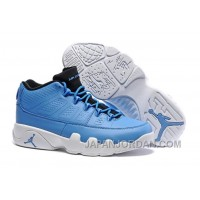 "New Air Jordan 9 Low ""Pantone"" University Blue/Black-White Top Deals"
