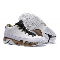 "New Air Jordan 9 Low ""Copper Statue"" For Sale"