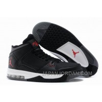 New Jordan Flight Origin Anthracite Black Gym Red White Lastest