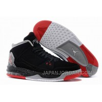 New Jordan Flight Origin Black/Fire Red-Cement Grey Discount