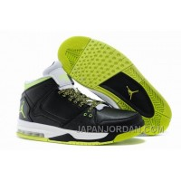New Jordan Flight Origin Black/Venom Green/Volt Ice/White Lastest