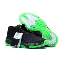 Air Jordan Future Black/Green New Release